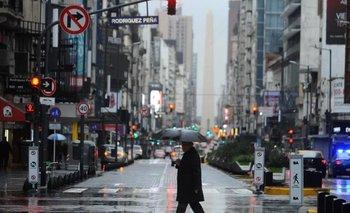 ¿Hasta cuando se extiende la lluvia en Buenos Aires? | Clima