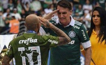 Boca quiere a un jugador que está a favor de Bolsonaro   Felipe melo