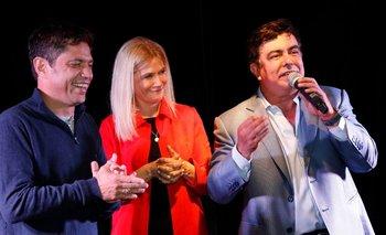 Kicillof, Magario y Espinoza se encontraron con empresarios | Axel kicillof
