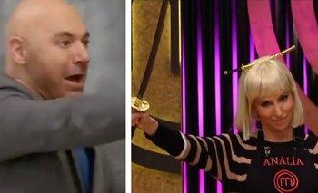 Peligro en MasterChef: Franchín blandió una katana ante el jurado   Televisión