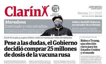 La vergonzosa campaña de Clarín contra la vacuna del coronavirus  | Vacuna del coronavirus