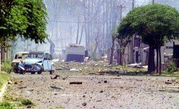 Esperando el juicio a Menem, Río III recuerda las explosiones | Córdoba