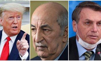 Otro Presidente se contagió coronavirus: ahora se sumó el de Argelia | Pandemia