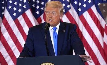 Trump se declaró ganador y amenaza con frenar el recuento en la Justicia | Elecciones en estados unidos
