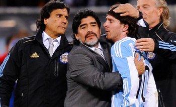 La fuerte frase de Messi sobre la muerte de Diego Maradona | Murió diego maradona