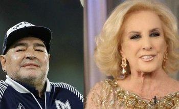 Inesperado mensaje de Mirtha Legrand a Diego Maradona | Farándula