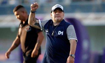 Diego Maradona recibió la visita de su hijo tras la salida de la Clínica | La salud de maradona