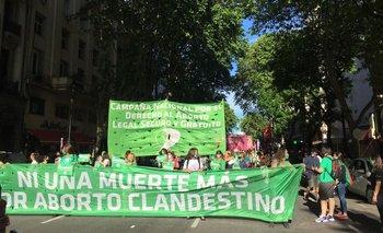Convocan a una marea verde por el aborto legal | Congreso