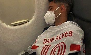 La burla de los jugadores de Lanús a Dani Alves tras eliminar a San Pablo | Fútbol