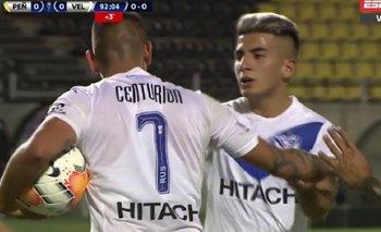 La discusión entre Centurión y Thiago Almada por patear un penal para Vélez | Fútbol