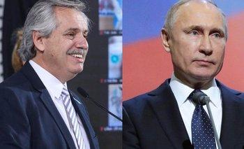 Alberto y Putin hablaron tras la publicación de Sputnik V en The Lancet | Vacuna del coronavirus