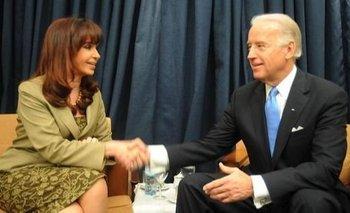 Cristina Kirchner felicitó a Joe Biden por el triunfo electoral | Elecciones en estados unidos