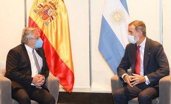 Alberto Fernández mantuvo una audiencia con el Rey de España, Felipe VI   Elecciones bolivia