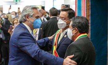 La ovación para Alberto Fernández en Bolivia por salvarle la vida a Evo | Alberto fernández