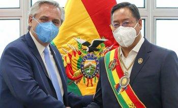 Alberto Fernández se reunió con Luis Arce en La Paz | Alberto fernández