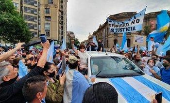 Desde Córdoba, Bullrich encabezó la marcha opositora  | Juntos por el cambio