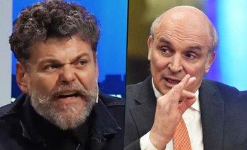 Alfredo Casero enloqueció y estalló de furia contra Espert | Alfredo casero