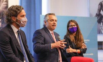 Alberto Fernández homenajeó a César Cigliutti, ex presidente de la CHA | Casa rosada