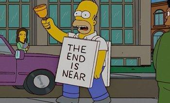 """Los Simpson """"anticipan"""" cuándo será el fin del mundo   Series"""