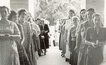69 años del voto femenino: dos anécdotas de aquella jornada histórica | Voto femenino