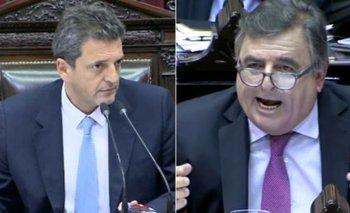 Picante cruce entre Sergio Massa y Mario Negri en Diputados   Congreso