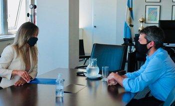 Galmarini y Lammens avanzan en una agenda conjunta | Obra pública
