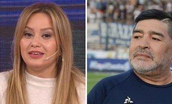 Karina La Princesita habló de su encuentro con Maradona   Diego maradona