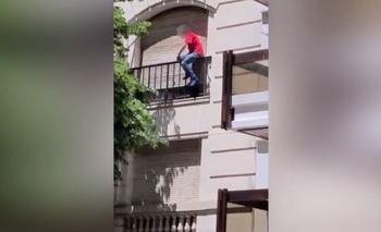 Dramático rescate en las alturas para salvar a un hombre  | Ciudad