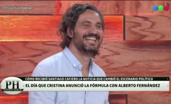 La graciosa anécdota de Cafiero cuando se enteró de la candidatura de Alberto   Santiago cafiero