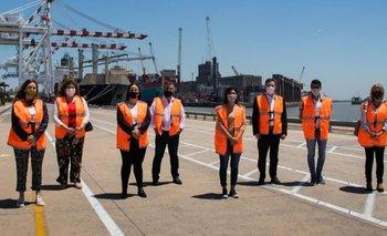 Diputados del Frente de Todos recorrieron el Puerto de Buenos Aires | Transporte