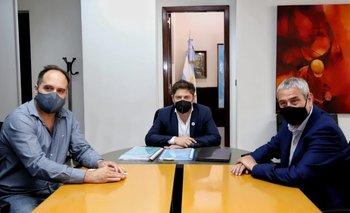 Ferraresi inauguró su agenda como ministro con una reunión con Kicillof | Crisis habitacional
