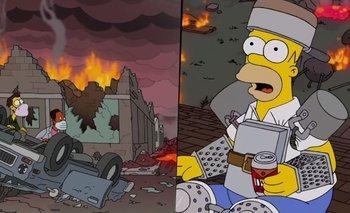 Los Simpson y las predicciones para el 2021: qué pasará con el COVID   Los simpson