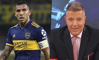 "El mensaje de Tevez a Fantino: ""Dejame de romper las pelotas"" | Carlos tevez"