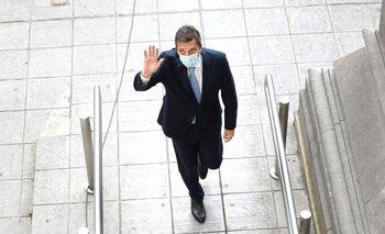 Massa llegó al Congreso y defendió el impuesto a la riqueza | Impuesto a la riqueza