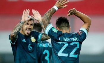 Eliminatorias Qatar 2022: Argentina dominó a Perú y festejó en Lima | Eliminatorias 2022