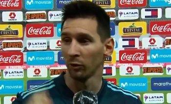 La insólita pregunta que descolocó a Messi tras el triunfo en Lima | Fútbol