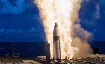 Estados Unidos interceptó un misil disparado desde el espacio   Espacio exterior