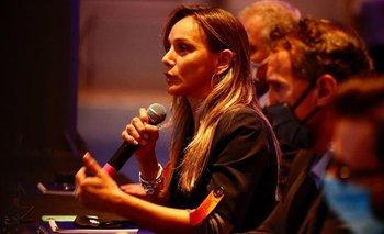 Malena Galmarini lloró al recordar su vida familiar en la dictadura | Día de la memoria