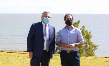 Íntimo asado sorpresa entre Alberto Fernández y Luis Lacalle Pou | Uruguay