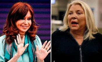 Espionaje ilegal: el enojo de Carrió contra CFK por el llamado a indagatoria | Estalló