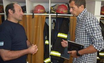 Bali Bucca presentó un proyecto para fortalecer recursos de los bomberos | Congreso