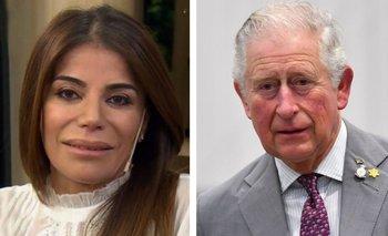 ¿Zulemita Menem en The Crown? Su foto retro con el Príncipe Carlos | En redes