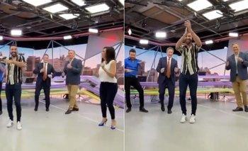 Video: figuras de TN bailaron cumbia y quedaron en ridículo | Tn