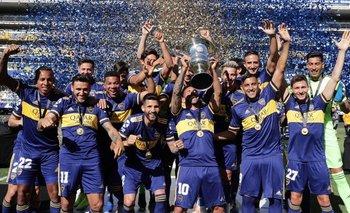 Superliga Argentina: Boca recibió el trofeo y las medallas de campeón | Fútbol