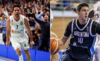 Facundo Campazzo y Leandro Bolmaro, del club de barrio a la NBA | Nba