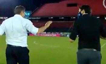 VIDEO: Escándalo y duro cruce entre los técnicos de Newell's y Talleres | Fútbol