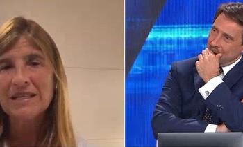 Video: Feinmann se atragantó cuando le dijeron cuánto mide el peronismo | Televisión