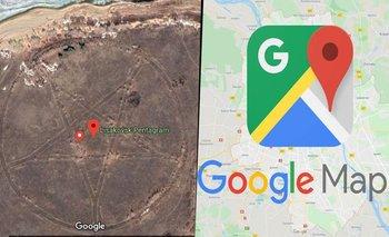 Los misteriosos mensajes extraterrestres en Google Maps   Espacio exterior