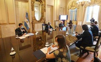 Alberto encabeza la primera reunión del Comité de Vacunación | Coronavirus en argentina