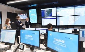 El Gobierno renovó el sistema de alerta y monitoreo de emergencias | Más recursos y capacidades